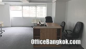 Rent Office with Partly Furnished on Sathorn near Chong Nonsi BTS Station