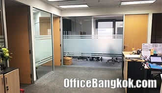 Office Space for Rent with Partly Furnished Close to Chidlom BTS Station