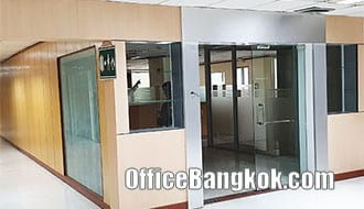 Rent Office Partly Furnished Phaya Thai BTS Station
