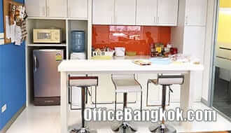 Office Space for Rent on Wireless Road with Partly Furnished close to Phloen Chit BTS Station