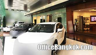 Car Showroom for Rent in CBD Area near BTS Station