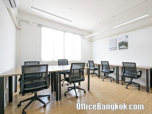 Fully Furnished Office Space for rent near BTS Udomsuk