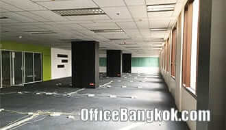 Furnished Office Space for Rent on Rama 4 close to Sala Daeng BTS Station and Silom MRT Station