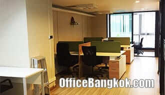 Fully Furnished office space for rent at Phayathai Plaza