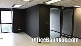 Rent Office Partly Furnished on Sathorn Road Close to BTS Surasak Station