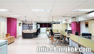 Temporary Office Space for Rent with Partly Furnished at The Trendy Office nearby Nana BTS Station