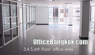 Office Space for Rent on Ratchada close to MRT Station