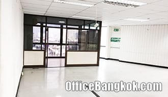 Office for Rent with Partly Furinshed on Rama 4 close to Hua Lamphong MRT Station