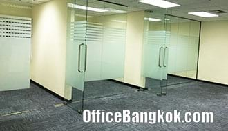 Partly Furnished Office Space for Rent on Asoke Area