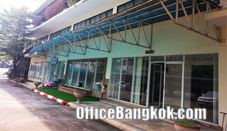 Office and Warehouse for Rent on Charoen Rat Road