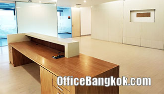 Partly Furnished Office for Rent on New Pethburi Road