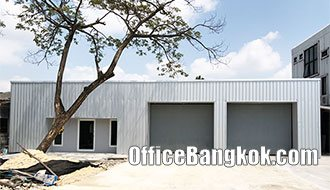 Stand Alone Office Building with Warehouse for Rent on Sukhumvit 62