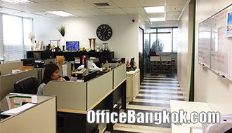 Rent Office Space with Partly Furnished on Sukhumvit Road