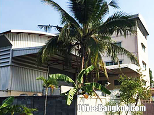 Office Building with Warehouse for Sale on Ramintra Road