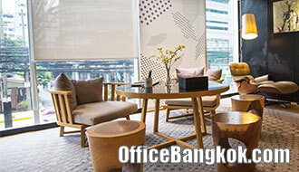 Service Office for rent on Asoke Area